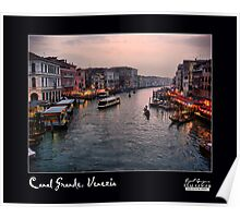 Canal Grande Poster