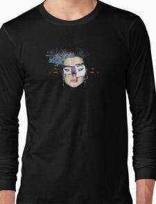 telly daze .... an interpretation by Nat Tee Long Sleeve T-Shirt