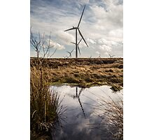 Windfarm. Photographic Print