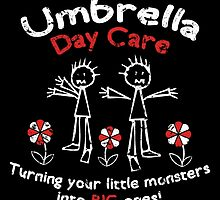 Umbrella Day Care by claygrahamart