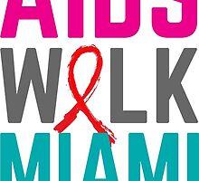 AIDS Walk Miami 2015 Logo by omar305