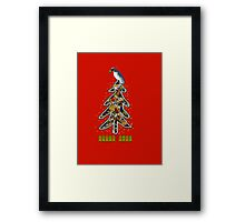 Aussi christmas cockatoo (card) Stock up , get ready Christmas ! Framed Print