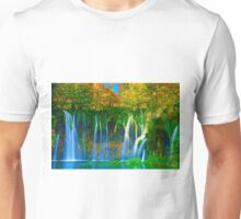 Peaceful lagoon Unisex T-Shirt