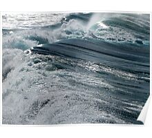 Converging waves Poster