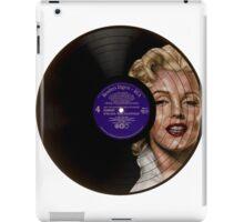 Marilyn Monroe Record Portrait  iPad Case/Skin
