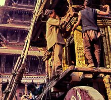 Nepali chariot by John Spies