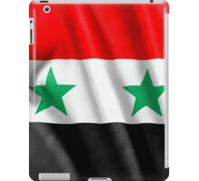 Syria Flag iPad Case/Skin