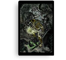 AVP COLOURED Canvas Print