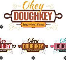 Okey doughkey Logo concepts by omar305
