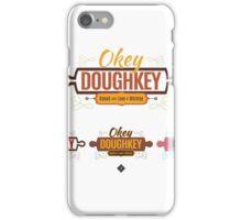 Okey doughkey Logo concepts iPhone Case/Skin