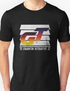 Edmonton Auto - 80's Sunrise - Slotted Up T-Shirt