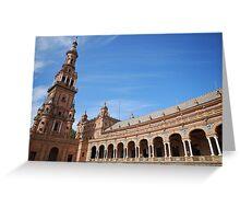 Plaza España Sevilla Greeting Card