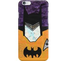 Batman as Geordi La Forge iPhone Case/Skin