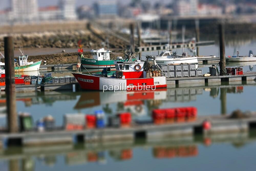 Fishing Boat - Royan by Pamela Jayne Smith