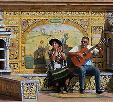 Flamenco in Sevilla by Amaya Solozabal