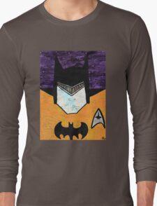 Batman as Geordi La Forge Long Sleeve T-Shirt