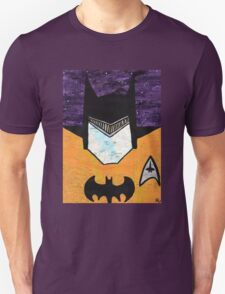 Batman as Geordi La Forge Unisex T-Shirt
