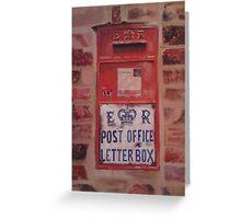 'Last Post' Greeting Card