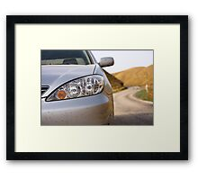 Toyota camry Framed Print