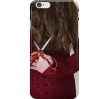 Hair Cut iPhone Case/Skin