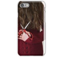 Hair Cut iPhone Case/Skin