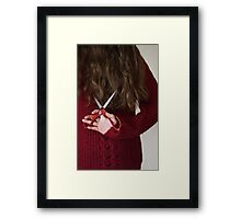 Hair Cut Framed Print