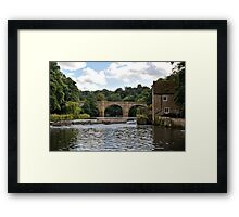 River Wear and Prebends Bridge Framed Print