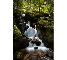 Black Forest Cascade Photographic Print