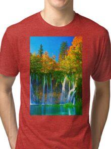 Tranquil falls Tri-blend T-Shirt