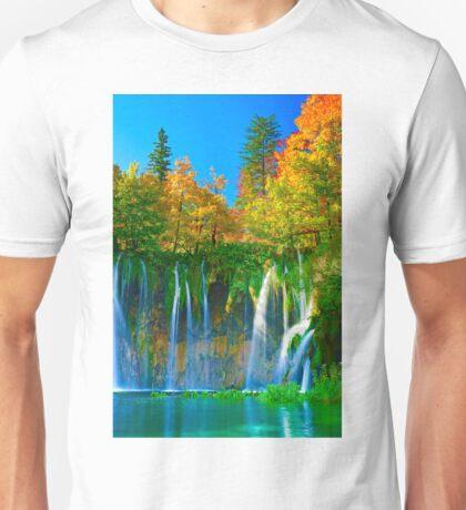 Tranquil falls Unisex T-Shirt