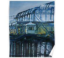 Brighton West pier - Lone survivor Poster