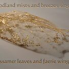 Of gossamer leaves and faerie wings . . . by Rosalie Dale