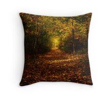 Autumn in the Sacred Grove Throw Pillow