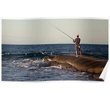 Maroochy Rivermouth Fishing Poster