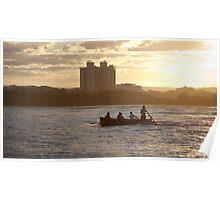 Maroochy River Surfboat training 2 Poster