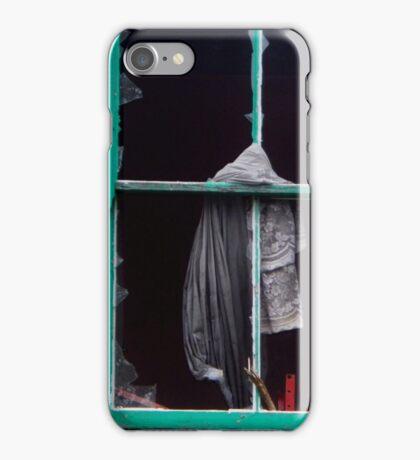 a broken window iPhone Case/Skin