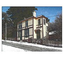 The Old Post Office, St Bathans, Otago, NZ Photographic Print
