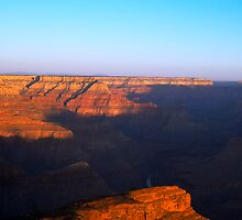Sunrise At The Grand Canyon by gernerttl