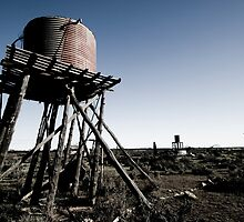 water tank by James  Harvie