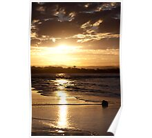Maroochy River Sunset Poster