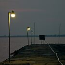 The Empty Pier by thruHislens .