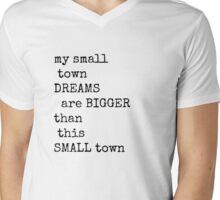 Larger Than Life  Mens V-Neck T-Shirt