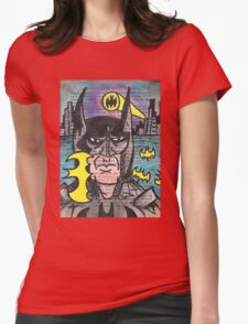 B-Man Womens Fitted T-Shirt