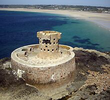 La Rocco Tower, St. Ouen's Bay, Jersey by KAPgsy