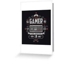 Classic gamer Greeting Card