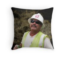 Downtown Construction 1 Throw Pillow