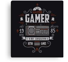 Master gamer Canvas Print