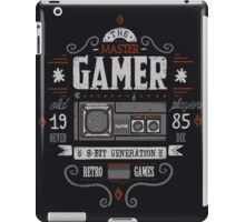 Master gamer iPad Case/Skin