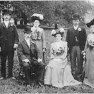 A Country Wedding Party 1903 - Sherburn,North Yorkshire. by Trevor Kersley