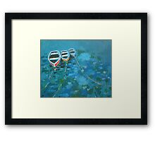 'Safe Moorings' (1200 views/19 favs to date!) Framed Print